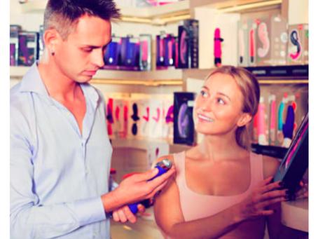 Eu? Levar meu marido a um sex shop? Pirou?