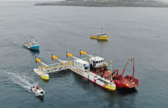 The PLAT-I Platform was Installed in Grand Passage, between Brier and Long Islands Nova Scotia