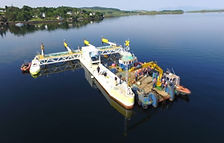 PLAT-I tidal energy platform shipped from Connel in Western Scotland to Grand Passage in Nova Scotia