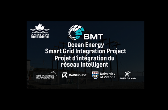 Canada's Ocean Supercluster Announces The Ontario-Led Ocean Energy Smart Grid Integration Project