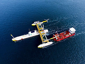 PLAT-I Operational in Nova Scotia - first power generated from the tidal currents of Grand Passage in Digby County
