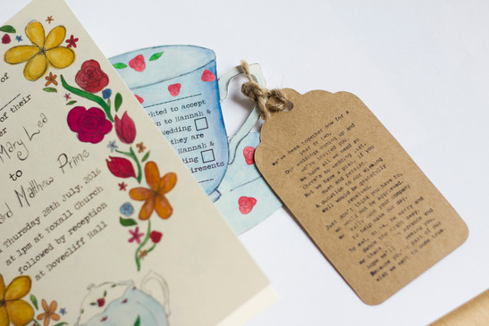 Wedding Invite & RSVP