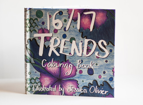 Trends Colouring Book
