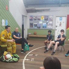 Visit from the RFS