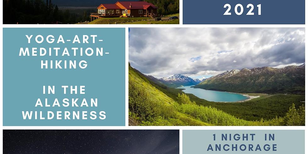 Breathe & Create: Alaska Yoga/Art retreat