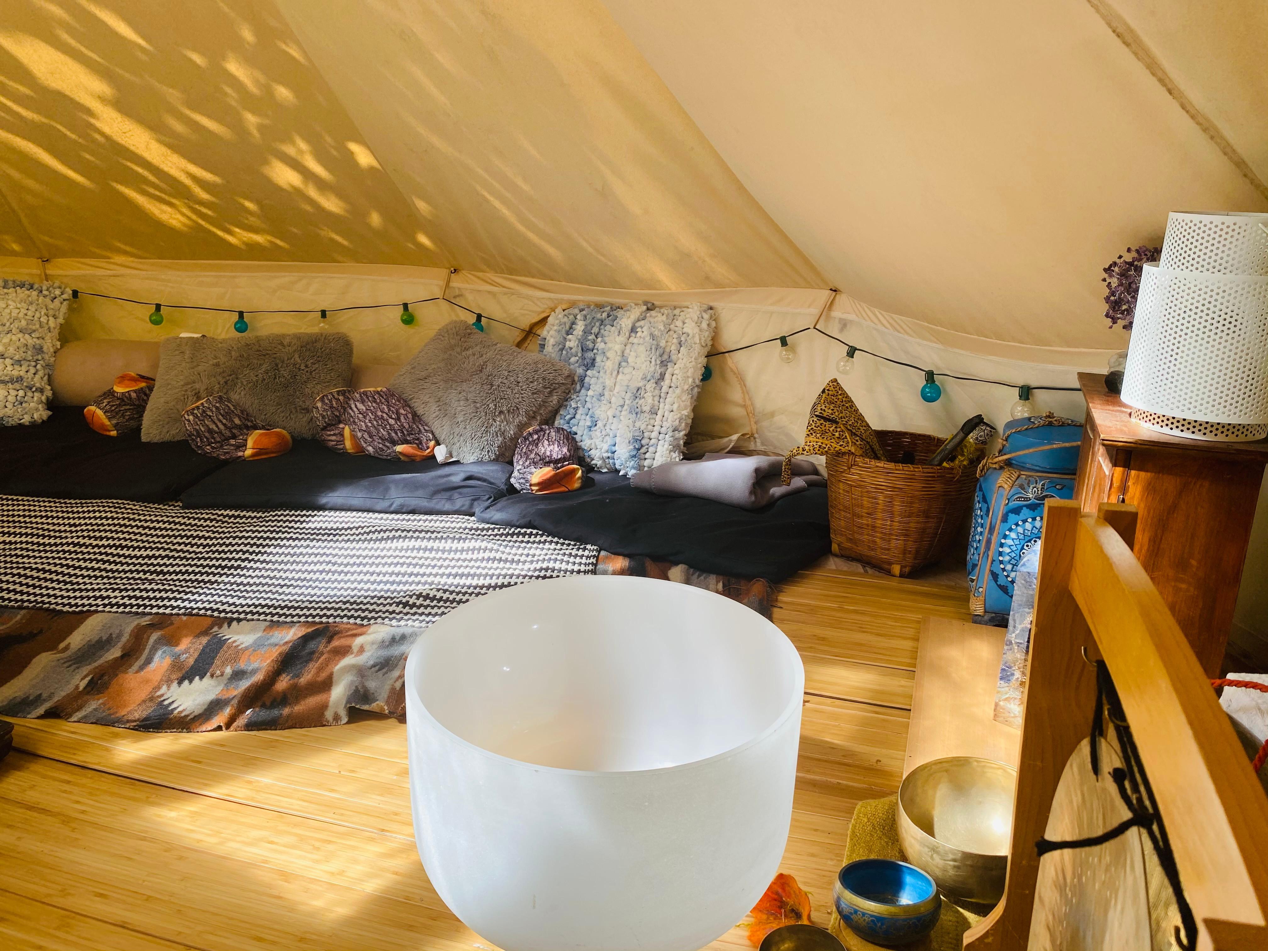 3 Pack Healing Tent