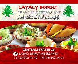 LAYALY BEIRUT-Interlaken Map