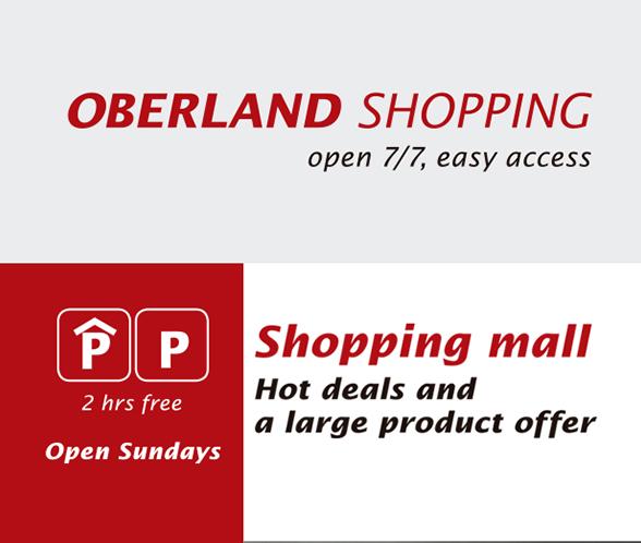 Oberland Shopping Interlaken