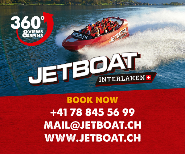 JETBOAT - Interlaken Map