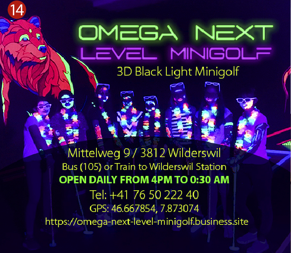 Omega Mini Golf Interlaken