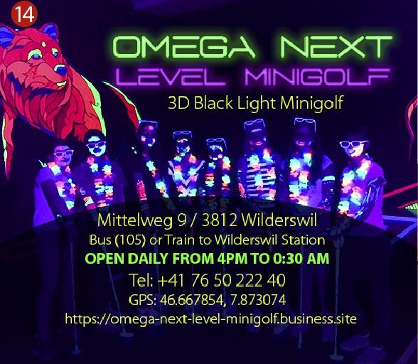 Omega Mini Golf Interlaken