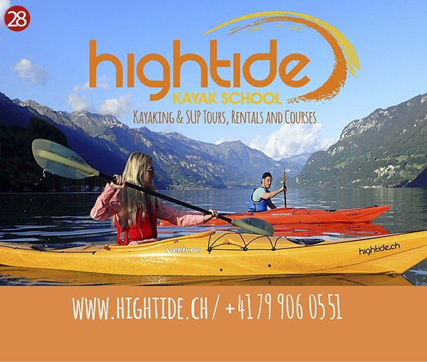 Hightide Kayak -Interlaken Map