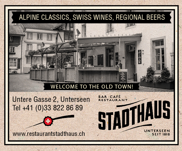 RESTAURANT STADTHAUS-Interlaken Map