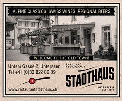 RESTAURANT STADTHAUS-Interlaken Map