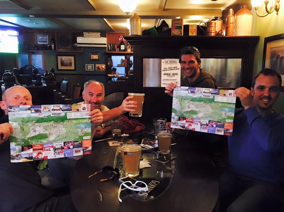 The 3 Tells Irish Pub-Interlaken Map