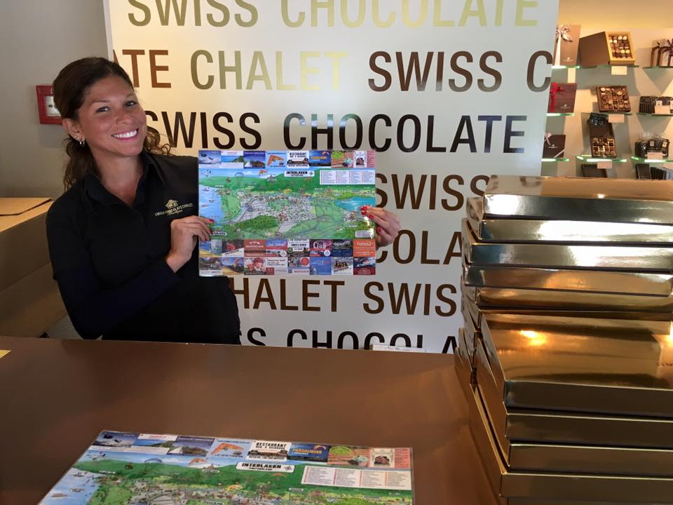 Swiss Chocolate Chalet-Interlaken Ma