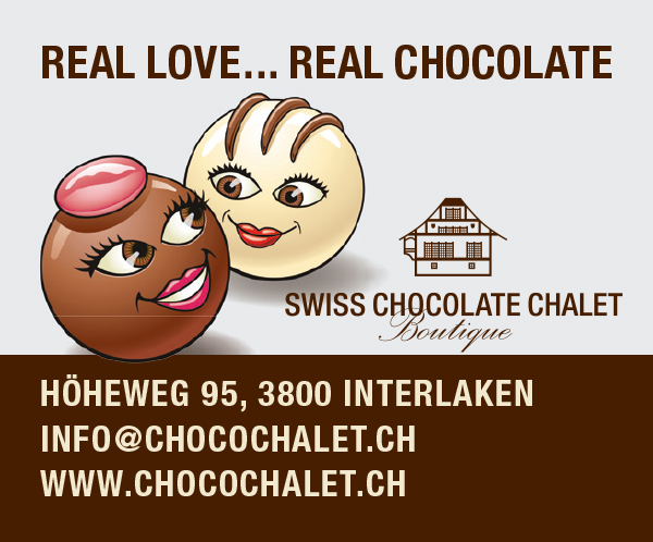 SWISS CHOCOLATE CHALET - map