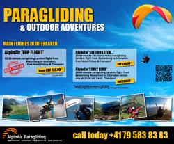 AlpinAir Paragliding Interlaken