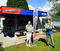 JetBoat-Interlaken Map