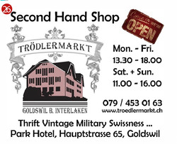 Steiner's second hand shop Goldswil