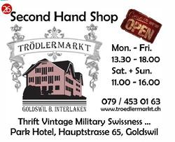 Steiner's second hand shop Goldswil