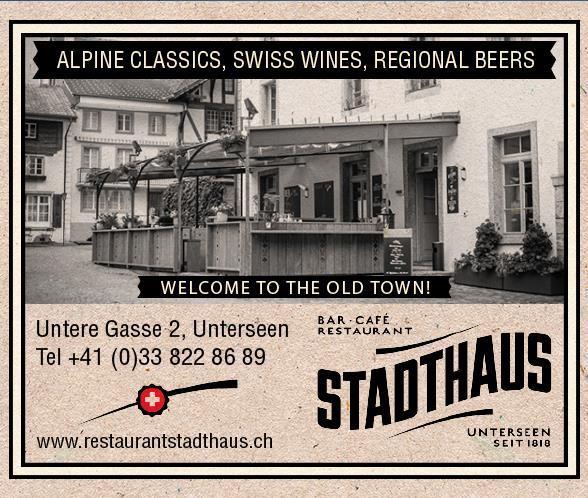 Restaurant Stadthaus Interlaken