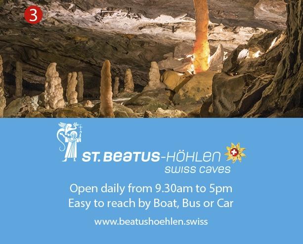 St. Beatus Hohlen Swiss Caves