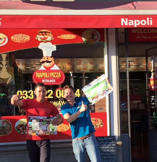 Napoli Pizza-Interlaken Map
