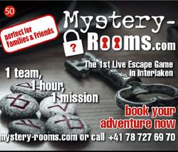 Mystery Rooms Interlaken