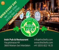 The Three Tells Irish Pub Interlaken