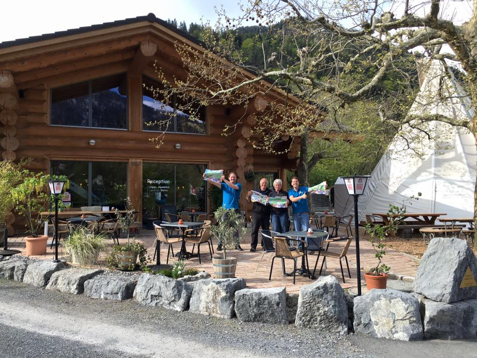 Lombach Bistro & Camping Alpenblick