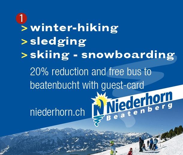 Niederhorn Beatenberg