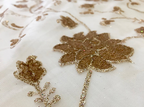 Auric Magic Glitter Fabric
