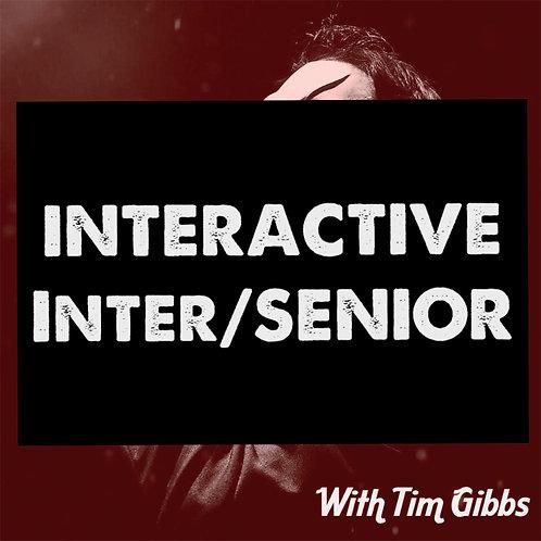 INTER/SENIOR - INTERACTIVE /BOOTCAMP