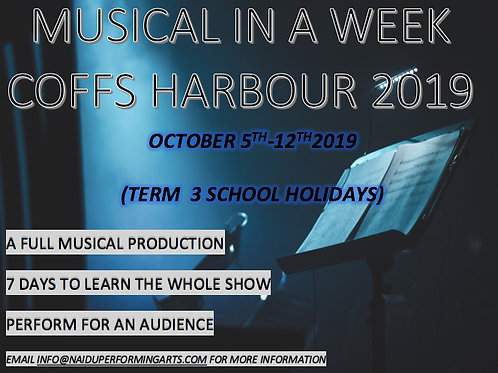 MUSICAL IN A WEEK FULL PAYMENT