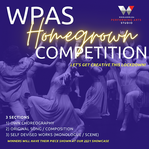 Own Works - Homegrown Competition