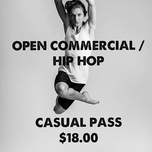 OPEN COMMERCIAL / HIP HOP CASUAL PASS