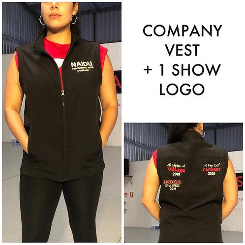 Company Vests + 1 Show Logo
