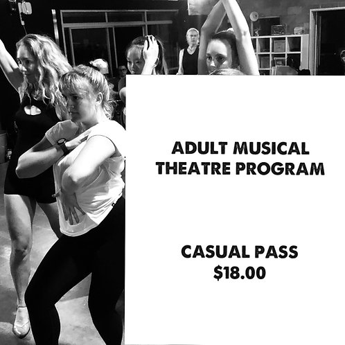 ADULT / OPEN MUSICAL THEATRE