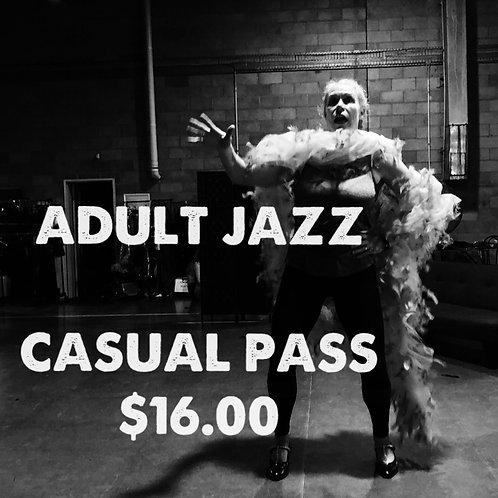 ADULT JAZZ CASUAL PASS
