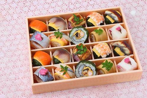 季節の手鞠わさび葉寿司 春(20個)