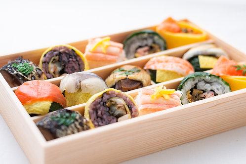 季節の手鞠わさび葉寿司 秋冬(15個)冷蔵