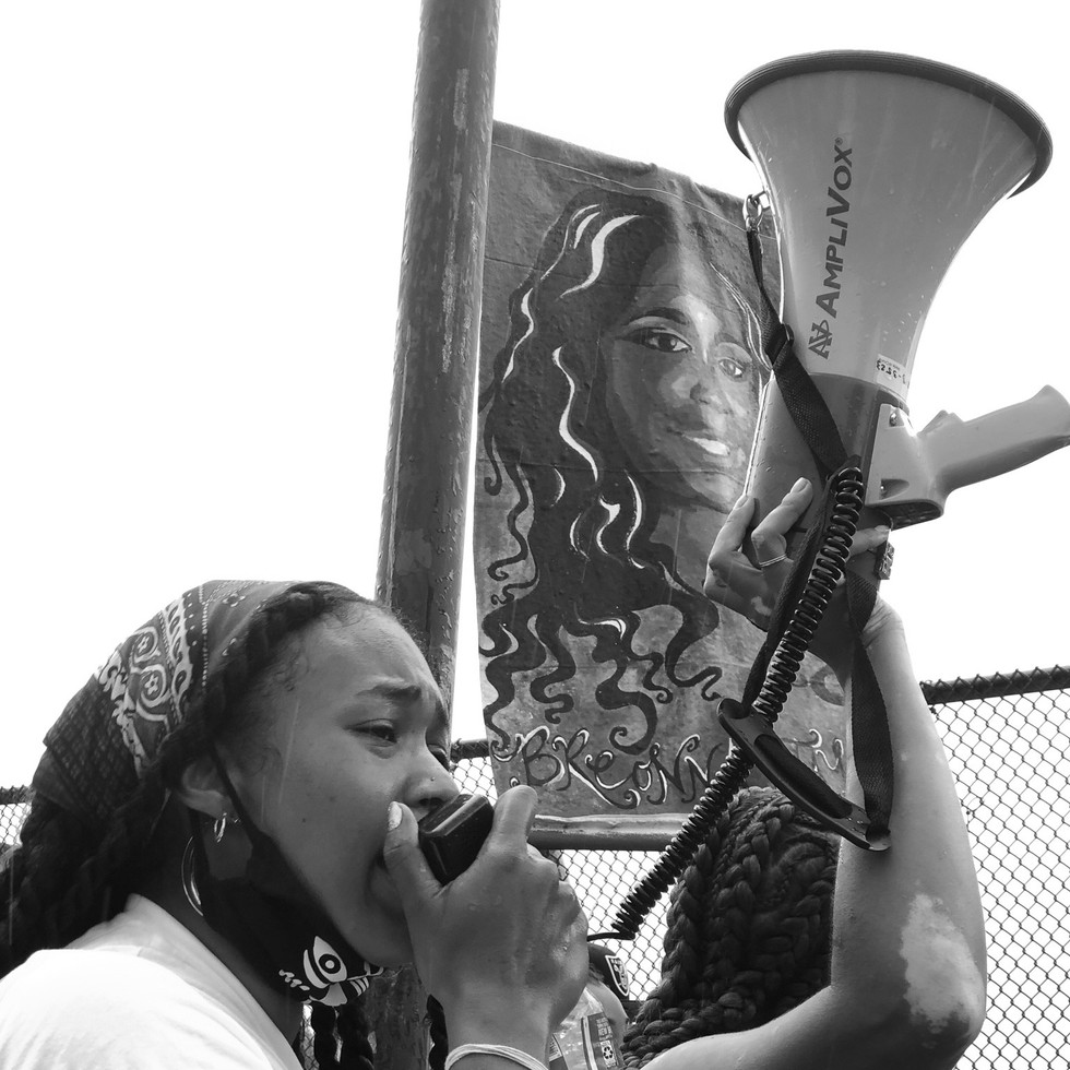 Uprising: A March for Black Womxn