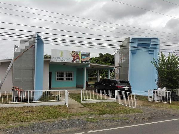 Sucursal Decopiscinas Panamá en Chitré.