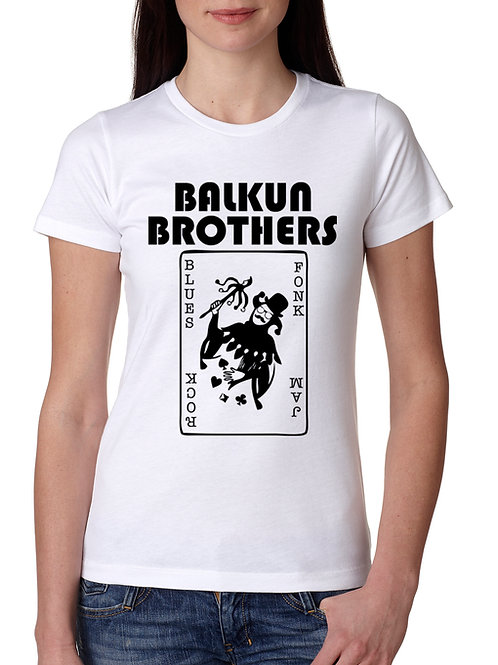Balkun Brothers Joker Woman's T-Shirt