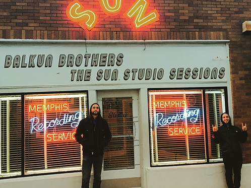 BALKUN BROTHERS - THE SUN STUDIO SESSIONS - Digital Download