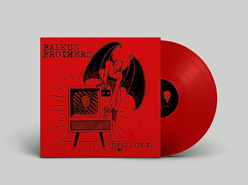 DEVIL ON TV - Red Vinyl