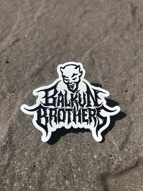 Balkun Brothers 'Devil' Logo Lapel Pin