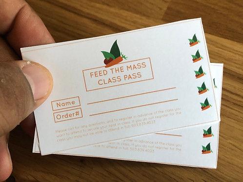 Buy 3, Sponsor 3 : Class Pass