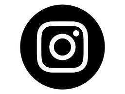 Instagram Icon White on Black Circle.png